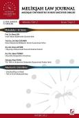 Melikşah Üniversitesi Hukuk Fakültesi Dergisi Cilt:2 Sayı:2 Aralık 2013
