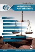 Mevlana Üniversitesi Hukuk Fakültesi Dergisi Cilt:2 – Sayı:1 Haziran 2014