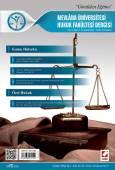 Mevlana Üniversitesi Hukuk Fakültesi Dergisi Cilt:3 – Sayı:2 Aralık 2015