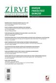 Zirve Üniversitesi Hukuk Fakültesi Dergisi Sayı:1 Eylül 2012