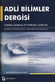 Adli Bilimler Dergisi – Cilt:4 Sayı:1 Mart 2005