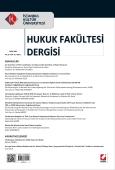 İstanbul Kültür Üniversitesi Hukuk Fakültesi Dergisi Cilt:12 – Sayı:1 Ocak 2013
