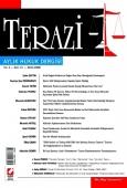 Terazi Aylık Hukuk Dergisi Sayı:21 Mayıs 2008