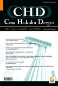 Ceza Hukuku Dergisi Sayı:8 Aralık 2008 Veli Özer Özbek