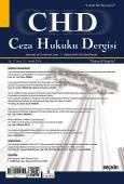 Ceza Hukuku Dergisi Sayı:32 – Aralık 2016