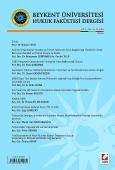 Beykent Üniversitesi Hukuk Fakültesi Dergisi Cilt:1 – Sayı:1 – Haziran 2015
