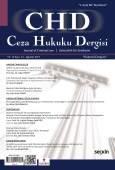 Ceza Hukuku Dergisi Sayı: 34 – Ağustos 2017