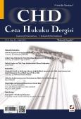 Ceza Hukuku Dergisi Sayı:26 Aralık 2014
