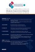 Hasan Kalyoncu Üniversitesi Hukuk Fakültesi Dergisi Sayı:16  Temmuz 2018