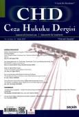 Ceza Hukuku Dergisi Sayı: 33 – Nisan 2017