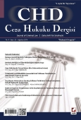 Ceza Hukuku Dergisi Sayı:25 Ağustos 2014