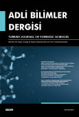 Adli Bilimler Dergisi – Cilt:18 Sayı:3 Eylül 2019