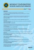 Beykent Üniversitesi Hukuk Fakültesi Dergisi Cilt:3 – Sayı:6 – Aralık 2017
