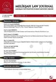 Melikşah Üniversitesi Hukuk Fakültesi Dergisi Cilt:1 Sayı:2 Aralık 2012