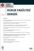 İstanbul Kültür Üniversitesi Hukuk Fakültesi Dergisi Cilt:9 – Sayı:2 Temmuz 2010