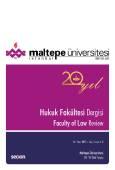 Maltepe Üniversitesi Hukuk Fakültesi Dergisi Sayı:1 – 2 / 2017
