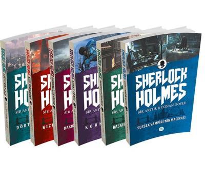 Sherlock Holmes 6 Kitap Takım-Kutusuz