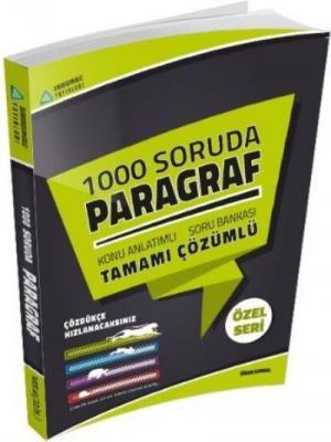 Sıradışıanaliz 1000 Soruda Paragraf Tamamı Çözümlü Konu Anlatımlı Soru