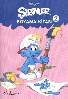 Şirinler Boyama Kitabı -2