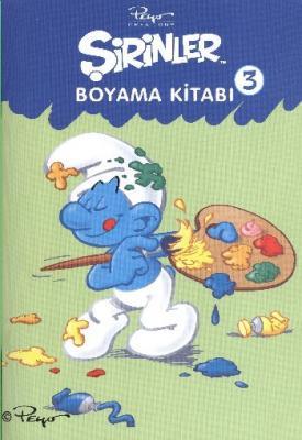 Şirinler Boyama Kitabı -3