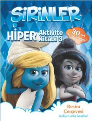 Şirinler Hiper Aktivite Kitabı 3