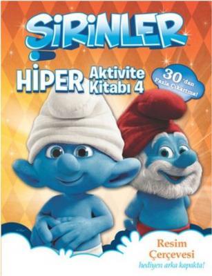 Şirinler Hiper Aktivite Kitabı 4