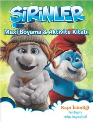 Şirinler Maxi Boyama-Aktivite Kitabı