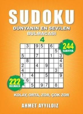 Sudoku-Dünyanın En Sevilen Bulmacası 4