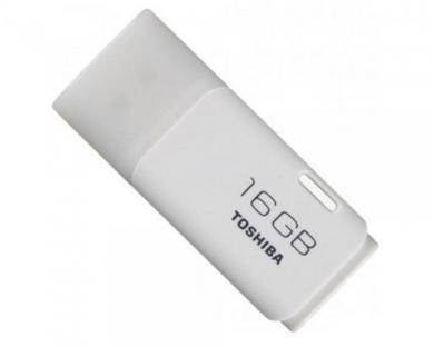 Toshiba 16GB Hayabusa Beyaz Flash Bellek