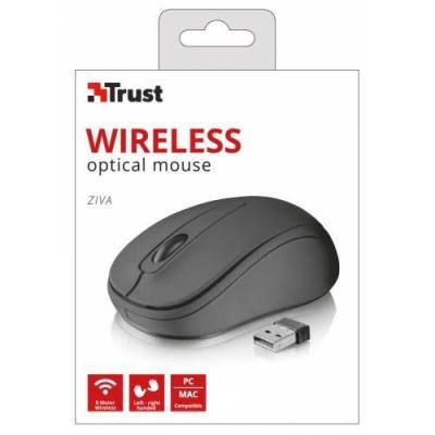 Trust 21509 Ziva Kablosuz Wireless Mouse Siyah