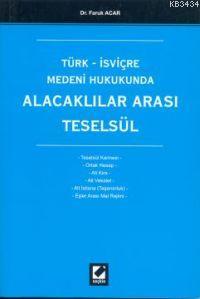 Türk – İsviçre Medeni HukukundaAlacaklılar Arası Teselsül