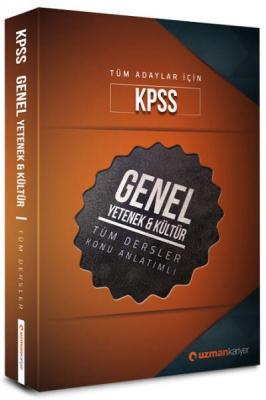 Uzman Kariyer KPSS Genel Yetenek-Genel Kültür Tüm Dersler Konu Anlatım