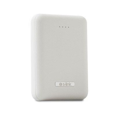 S-LİNK IP-867 10.000mAh 2 USB PORT TAŞINABİLİR ŞARJ CİHAZI- BEYAZ s-li