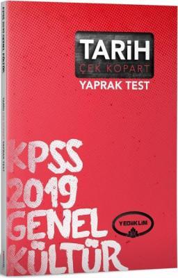 Yediiklim KPSS Genel Kültür Tarih Çek Kopart Yaprak Test-YENİ