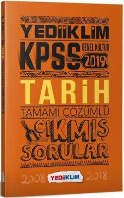 Yediiklim KPSS Genel Kültür Tarih Tamamı Çözümlü Çıkmış Sorular-YENİ