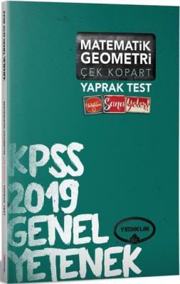 Yediiklim KPSS Genel Yetenek Matematik Geometri Çek Kopart Yaprak Test-YENİ