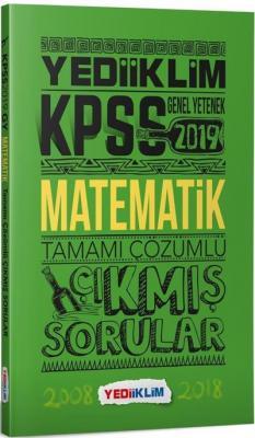 Yediiklim KPSS Genel Yetenek Matematik Tamamı Çözümlü Çıkmış Sorular-YENİ