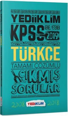 Yediiklim KPSS Genel Yetenek Türkçe Tamamı Çözümlü Çıkmış Sorular-YENİ