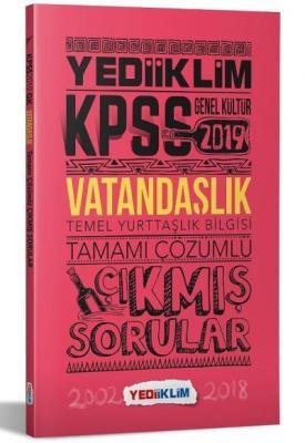 Yediiklim KPSS Vatandaşlık Tamamı Çözümlü Çıkmış Sorular-YENİ