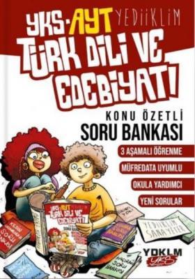 Yediiklim YKS AYT Türk Dili ve Edebiyatı Konu Özetli Soru Bankası-YENİ