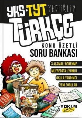 Yediiklim YKS TYT Türkçe Konu Özetli Soru Bankası-YENİ