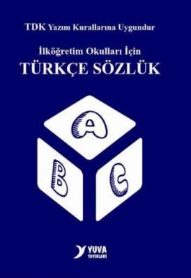 TDK  Uyumlu Yuva İlkokul Türkçe Sözlük Biole Plastik Kapak