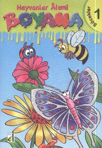 Hayvanlar Alemi Boyama 8 Kitap Kolektif