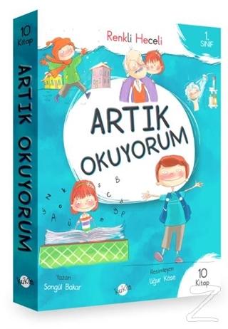 1. Sınıf - Artık Okuyorum 10 Kitap (Renkli Heceli)