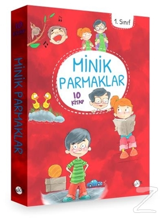1. Sınıf - Minik Parmaklar 10 Kitap (Düz Yazı)