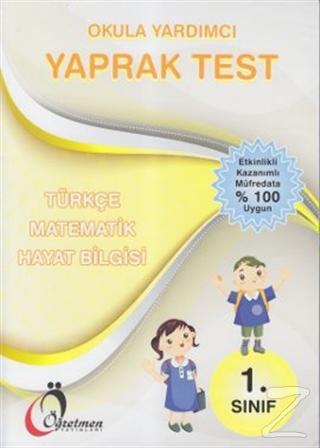 1. Sınıf Okula Yardımcı Yaprak Test