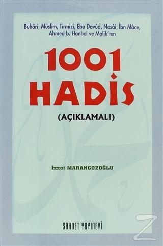 1001 Hadis (Açıklamalı) (Ciltli)