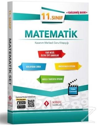 11. Sınıf Matematik Set Kazanım Merkezli Soru Kitapçığı