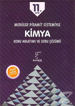11. Sınıf Modüler Piramit Sistemiyle Kimya Konu Anlatımı ve Soru Çözümü (3 Kitap)