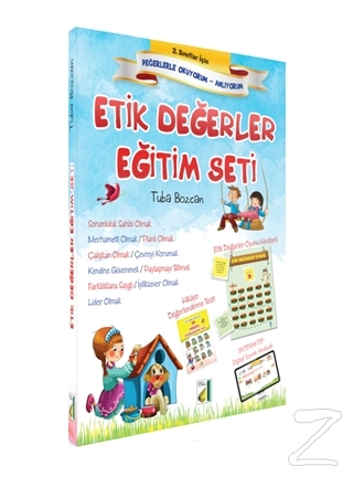 2. Sınıflar İçin Etik Değerler Eğitim Seti (10 Kitap Takım)